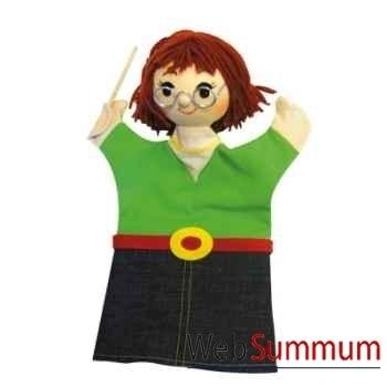 Marionnette Maitresse d\'école Anima Scéna 22598A