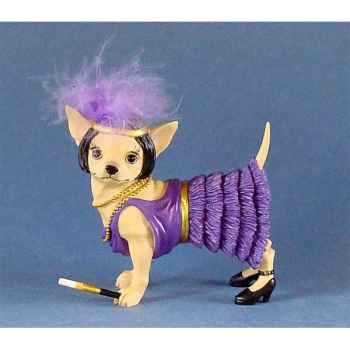 Figurine Chien Chihuahua Charleston 13384