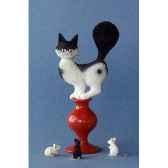 figurine chat dubout plan de fuite dub51