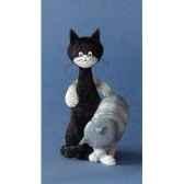 figurine chat dubout la charmeuse dub52
