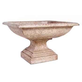 Vases-Modèle Kingston Urn, surface rouille-bs3198rst