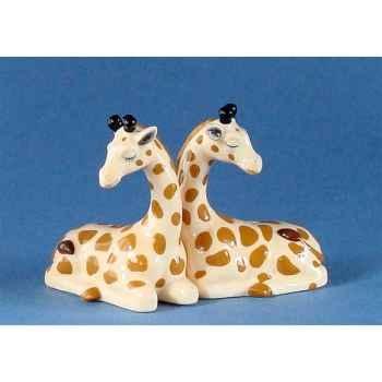 Figurine Girafe Poivre et Sel MW93929