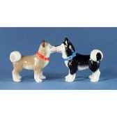 figurine huskies poivre et semw93930