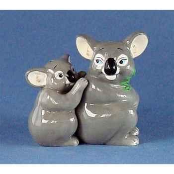 Figurine Koalas Poivre et Sel MW93931