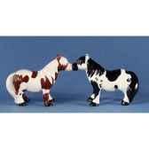 figurine poney shetland poivre et semw93934