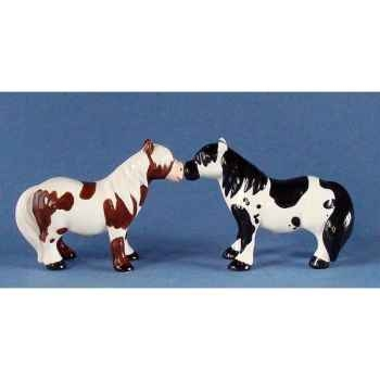 Figurine Poney Shetland Poivre et Sel MW93934