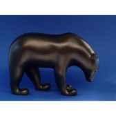 statuette ours brun pompon pom07