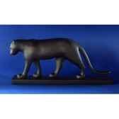 statuette panthere noire pompon pom08