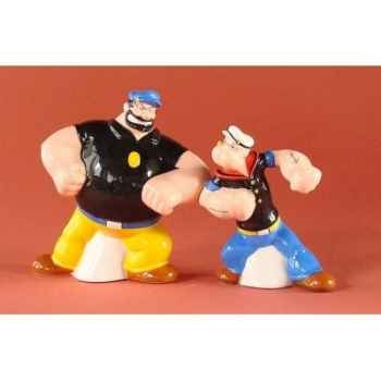 Figurine Popeye et Brutus -POP15128