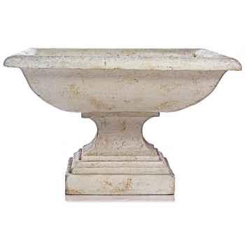 Vases-Modèle Kingston Urn, surface marbre vieilli-bs3198ww