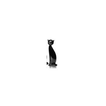 Chat noir en verre de Murano V03052S