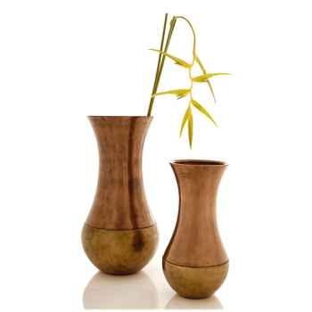 Vases-Modèle Snap Jar, surface bronze nouveau-bs3219nb