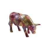 vache cow parade ceramique patch work suit mmc47381