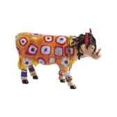 vache cow parade resine miss hippie mmr47782