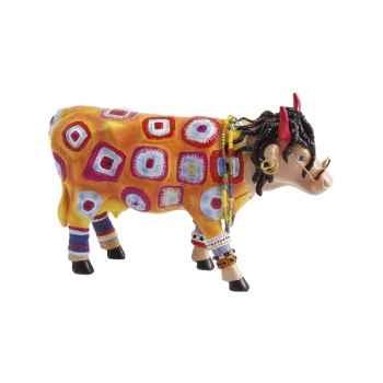 Vache Cow Parade résine Miss Hippie MMR47782