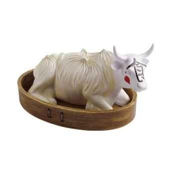 Vache Cow Parade résine Steamed Dumpling Cow MMR47795