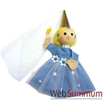 Marionnette à mains personnage Fée Bleue Anima Scéna 19908