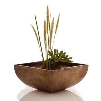 Vases-Modèle Nara Bowl, surface bronze nouveau-bs3231nb