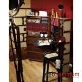 malle de cabine armoire ivoire mf077