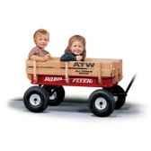 radio flyer chariot bois et meta180w