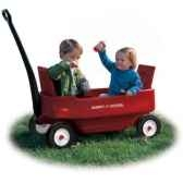 radio flyer chariot biplace 2700
