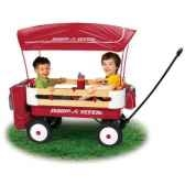 radio flyer chariot biplace deluxe 3600