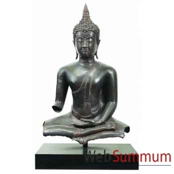 Bouddha assis, Bronze -AM126
