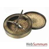 cadran solaire boussole 18eme co012