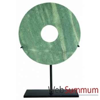 Ming Bai, 16cm (Jaspe vert) -MC261