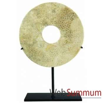 Ming Bai, 16cm Corail fossile -MC262