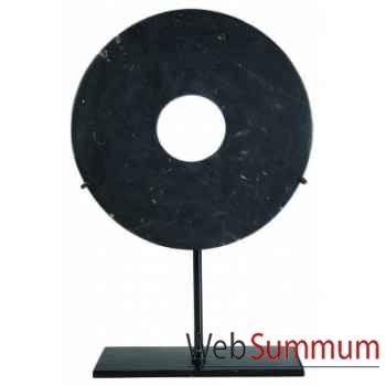 Ming Lu, 16cm (Jaspe noir) -MC263