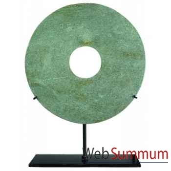 Ming Hei, 20cm (Jaspe vert) -MC271