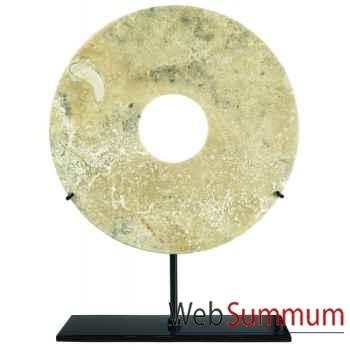 Ming Bai, 20cm Corail fossile -MC272