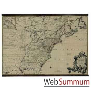 Plan Amérique du Nord 1755 -MC811