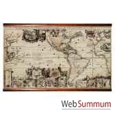 carte du nouveau monde mc813