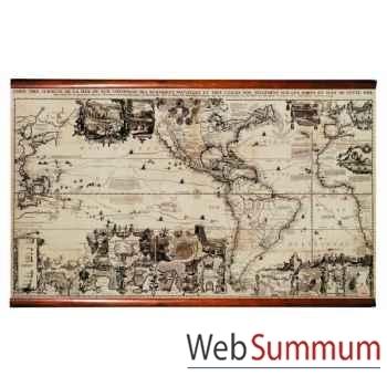 Carte du Nouveau Monde -MC813