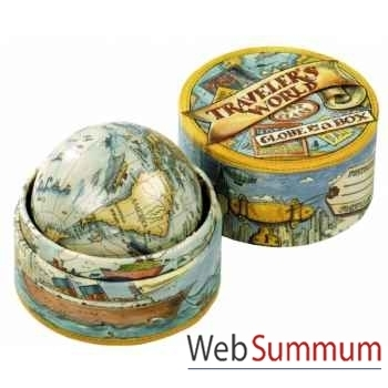 Globe du Voyageur en Boîte -MS021