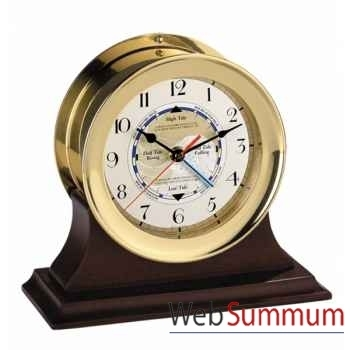 Socle Acajou pour Horloge -SC044
