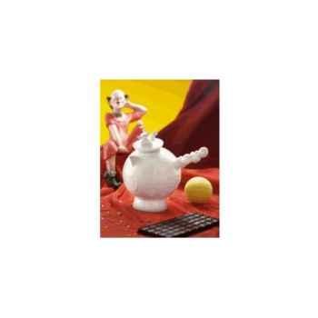 """Daudi-Chocolatière-Chocolatière modèle """"Cirque"""", contenance 50 cl."""