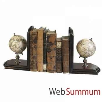 Globe Serre-Livres (paire) -GL009F