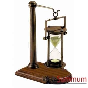 Sablier Bronze/Pied 30 Minutes -HG008