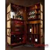 malle de cabine bar ivoire mf078