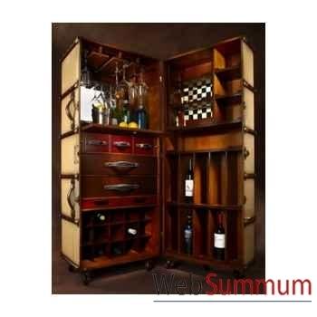 Malle de Cabine Bar, ivoire -MF078