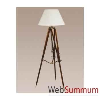 Lampe Trépied de Campagne (Noire) -SL019B