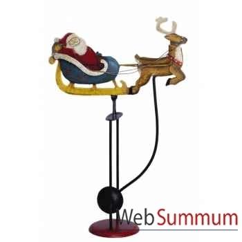 Balancier Père Noël Traîneau -TM053