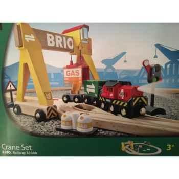 Circuit transport de marchandises - Jouet Brio 33048000
