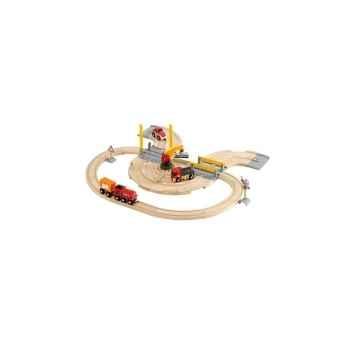 Circuit transfert de marchandises rai/ route - Jouet Brio 33208000