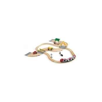 Circuit correspondance train / bus  - Jouet Brio 33209000