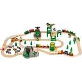 circuit de chemin de fer deluxe 70 pces jouet brio 33044000