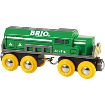 locomotive de marchandises - Jouet Brio 33693000